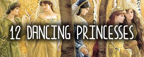 A list of YA retellings of The Twelve Dancing Princesses via Epic Reads