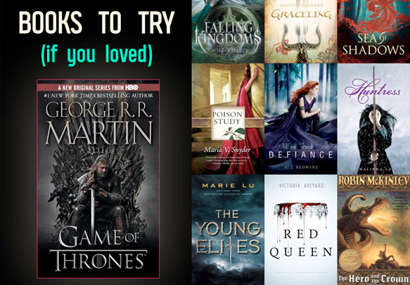 25 YA Books For GAME OF THRONES Fans