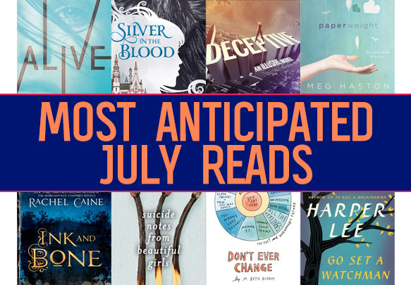 The 15 Most Anticipated YA Books To Read In July