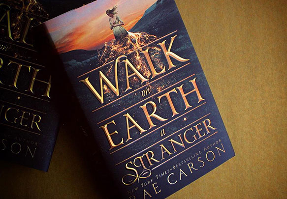 Read an Excerpt from WALK ON EARTH A STRANGER!