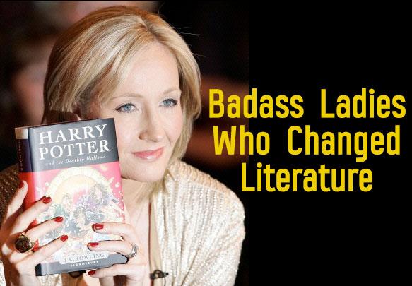 8 Badass Ladies Who Changed Literature Forever