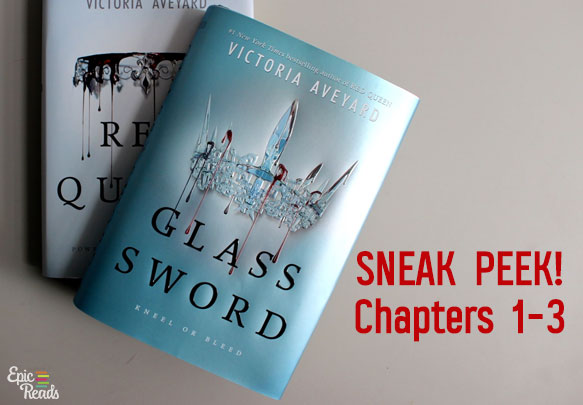Read the First 3 Chapters from GLASS SWORD