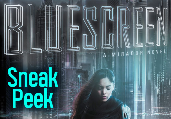 Read the First 3 Chapters from Bluescreen