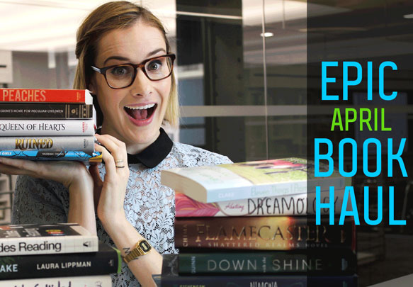 Watch Our April Book Haul!
