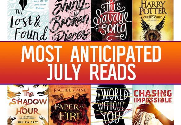 The Most Anticipated YA Books To Read in July