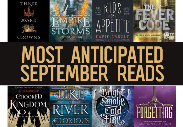The 20 Most Anticipated YA Books to Read in September