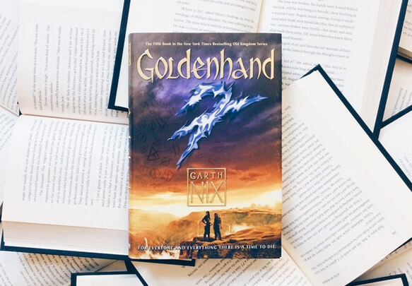 Read the First 4 Chapters Of Goldenhand by Garth Nix