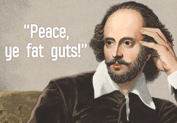 10 Ridiculous Shakespeare Insults That Will Make You LOL