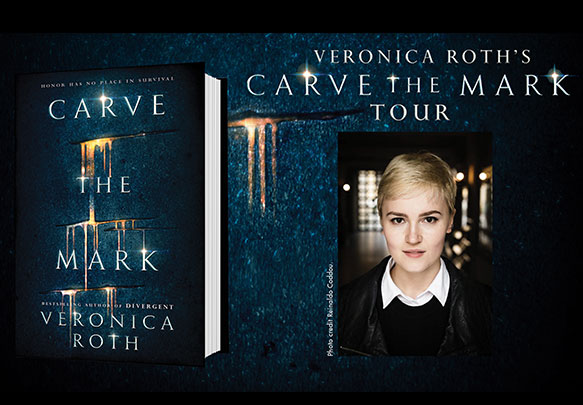 Details On Veronica Roth's Carve The Mark Tour