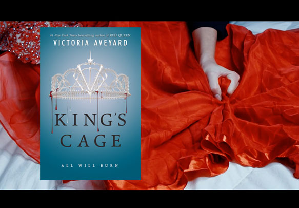 The KING'S CAGE Book Trailer is Gorgeously Creepy