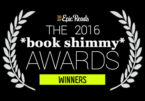 The 2016 Book Shimmy Awards Winners!