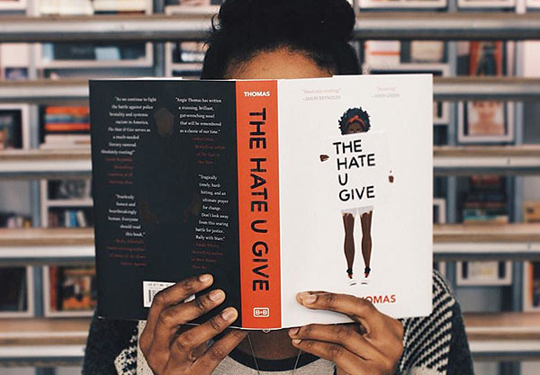 The Hate U Give Cover Art Just Gave Black Girl Magic A Place In Publishing