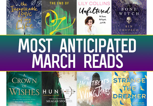 The 18 Most Anticipated YA Books to Read in March