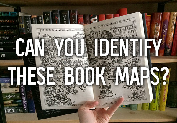 How Many of these YA Book Maps Can You Identify?