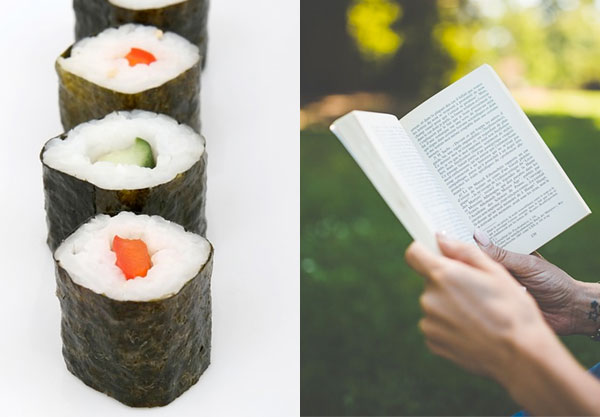 Make a Sushi Roll and We'll Guess Your Favorite Way to Read