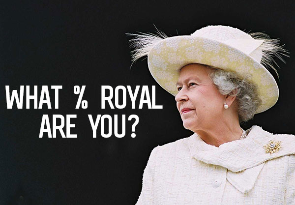 What Percent Royal Are You? Find Out With This Quiz!
