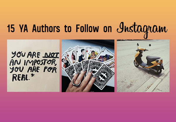 15 YA Authors to Follow on Instagram