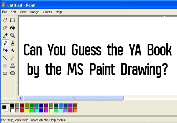 Can You Guess the YA Book by the MS Paint Drawing?
