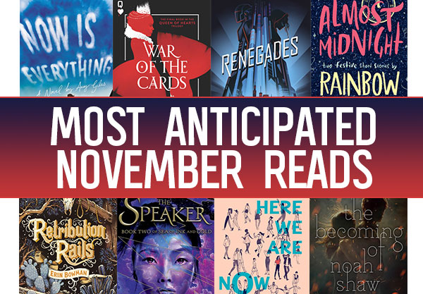 The 14 Most Anticipated YA Books to Read In November