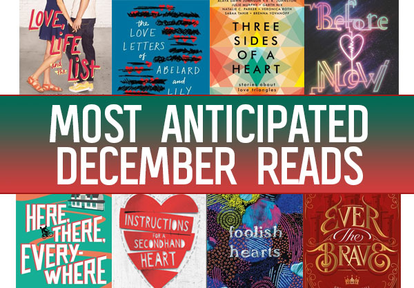The 12 Most Anticipated YA Books to Read in December
