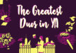 The 11 Greatest Duos in Young Adult Books