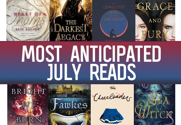 The 17 Most Anticipated YA Books to Read in July