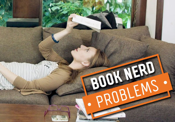 Book Nerd Problems: Injured While Reading