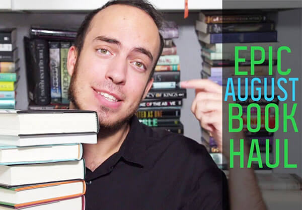 Watch Our August Book Haul!