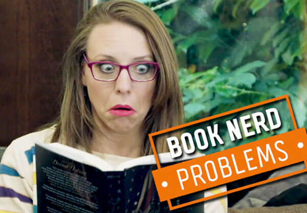 Book Nerd Problems: Borrowing a Scary Book
