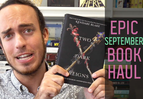 Watch Our September Book Haul!