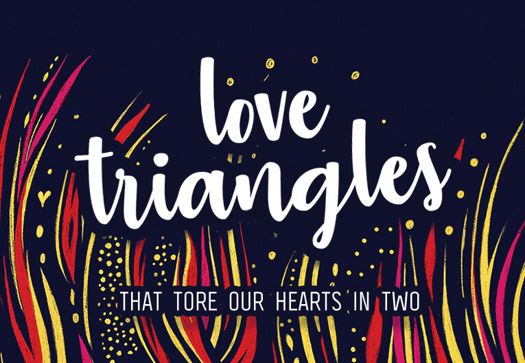 10 Love Triangles in YA Guaranteed to Tear Your Heart in Two