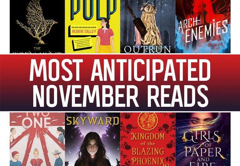 The 17 Most Anticipated YA Books November Will Be Bringing Us