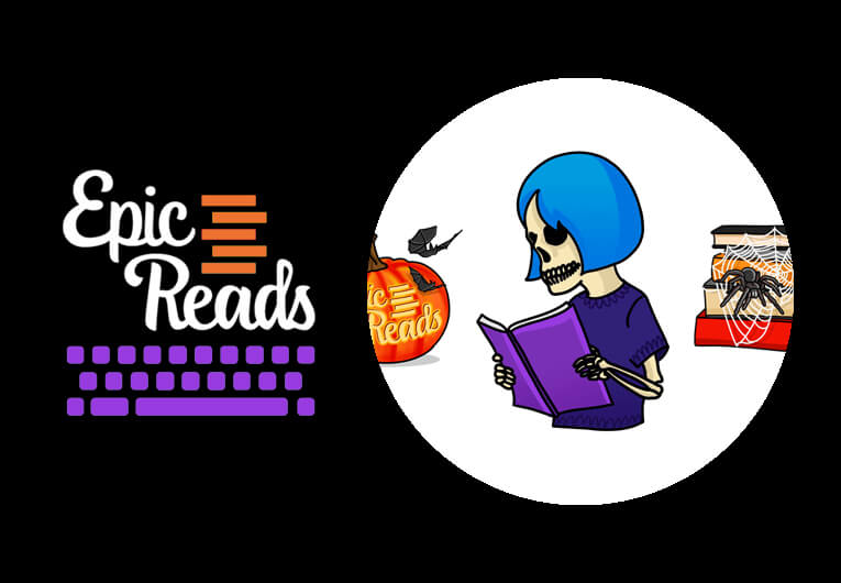 Turn Your Fear Into Power With These Spooky Seasonal Bookmojis!