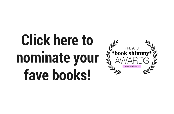 Nominate Your Favorite Young Adult Books in the 2018 *Book Shimmy* Awards!