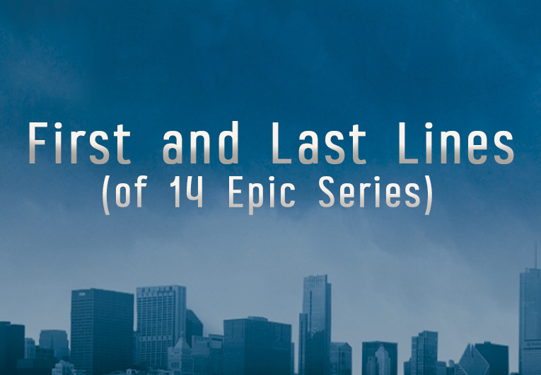 How Far We've Come: The First and Last Lines of 14 Epic Series