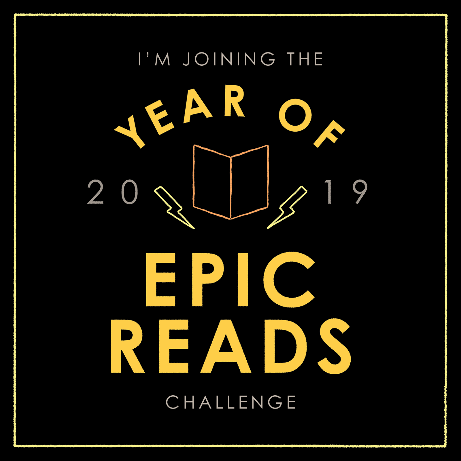Official 2019 Reading Challenge