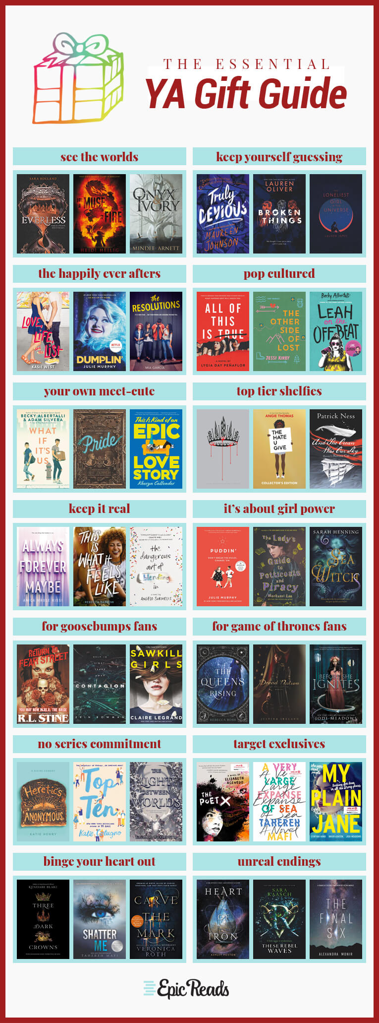 The Essential 2018 Young Adult Book Buying Guide