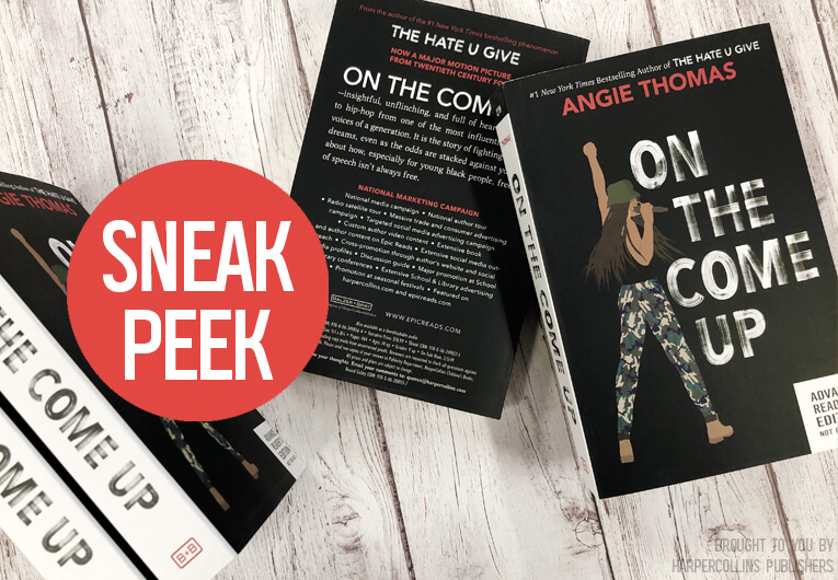 Get an Extended Look at 'On the Come Up,' the Next Must-Read Book from Angie Thomas!