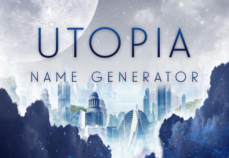 Utopia Name Generator: Banner
