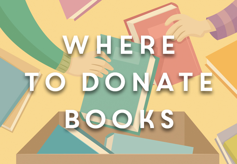 Where to Donate Books: Banner