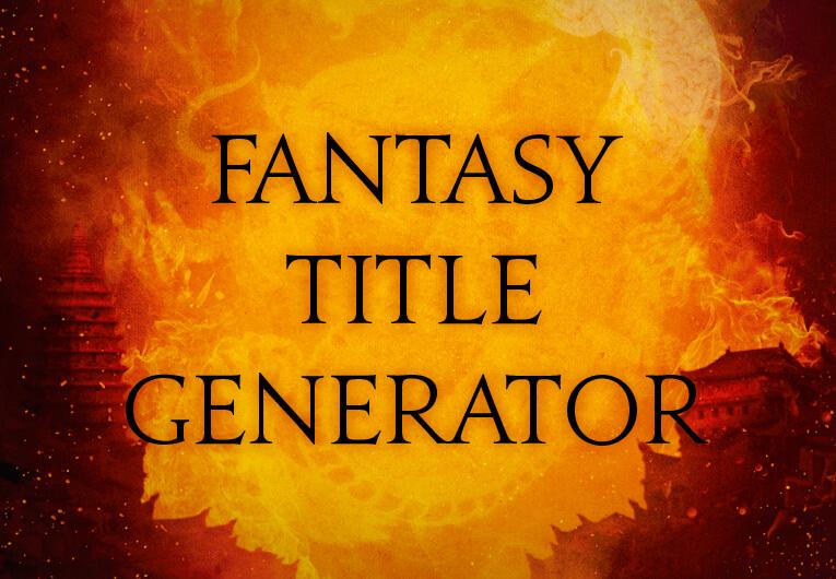Fantasy Title Generator: Banner