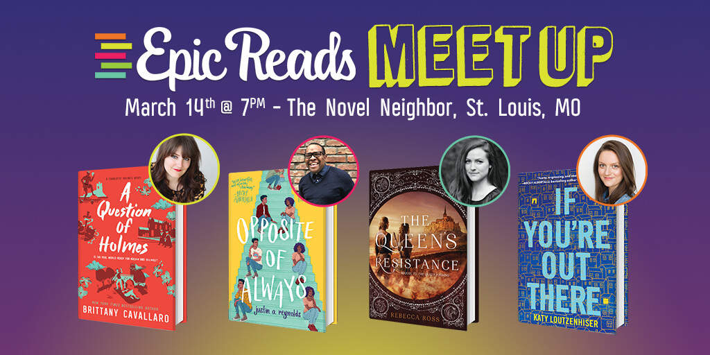 Epic Reads Meetup: March 14