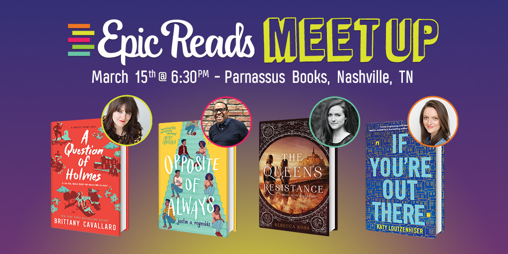 Epic Reads Meetup: March 15