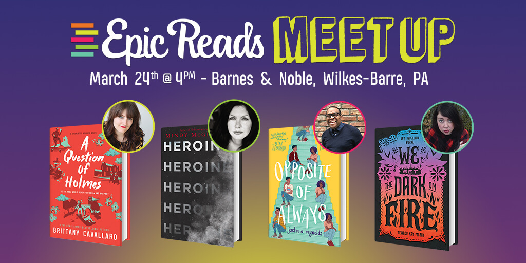 Epic Reads Meetup: March 24
