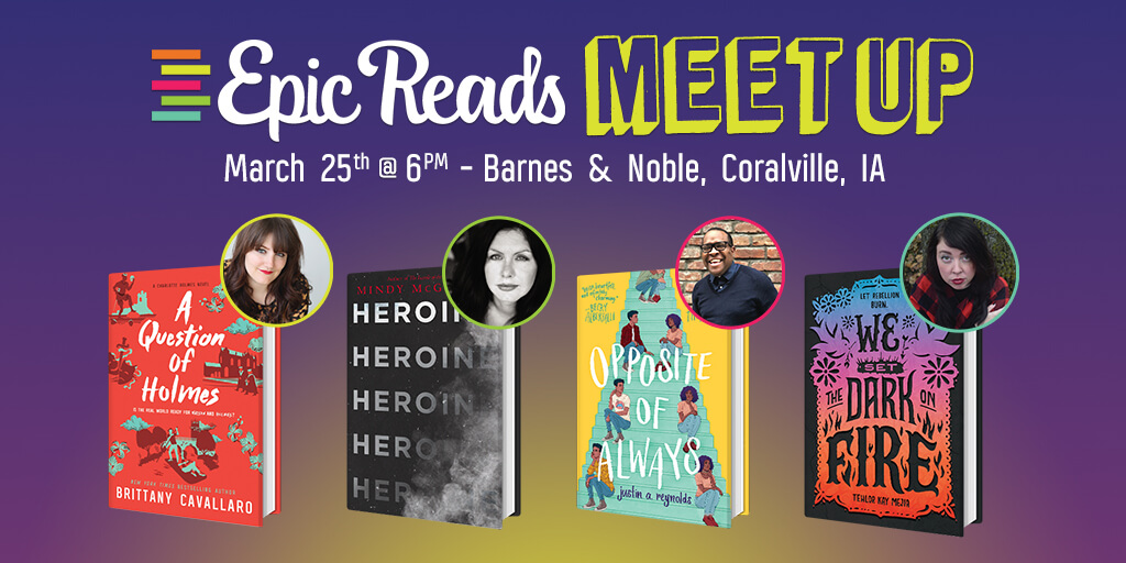 Epic Reads Meetup: March 25