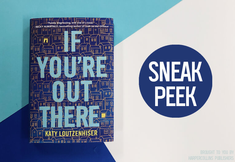 Stop Searching, Because We Have an Exclusive First Excerpt of 'If You're Out There'