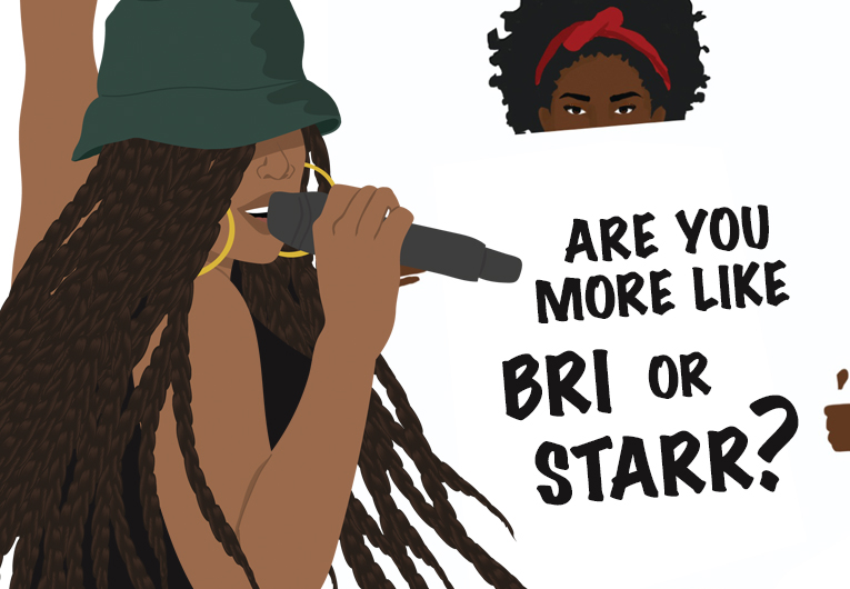 Bri or Starr: Banner