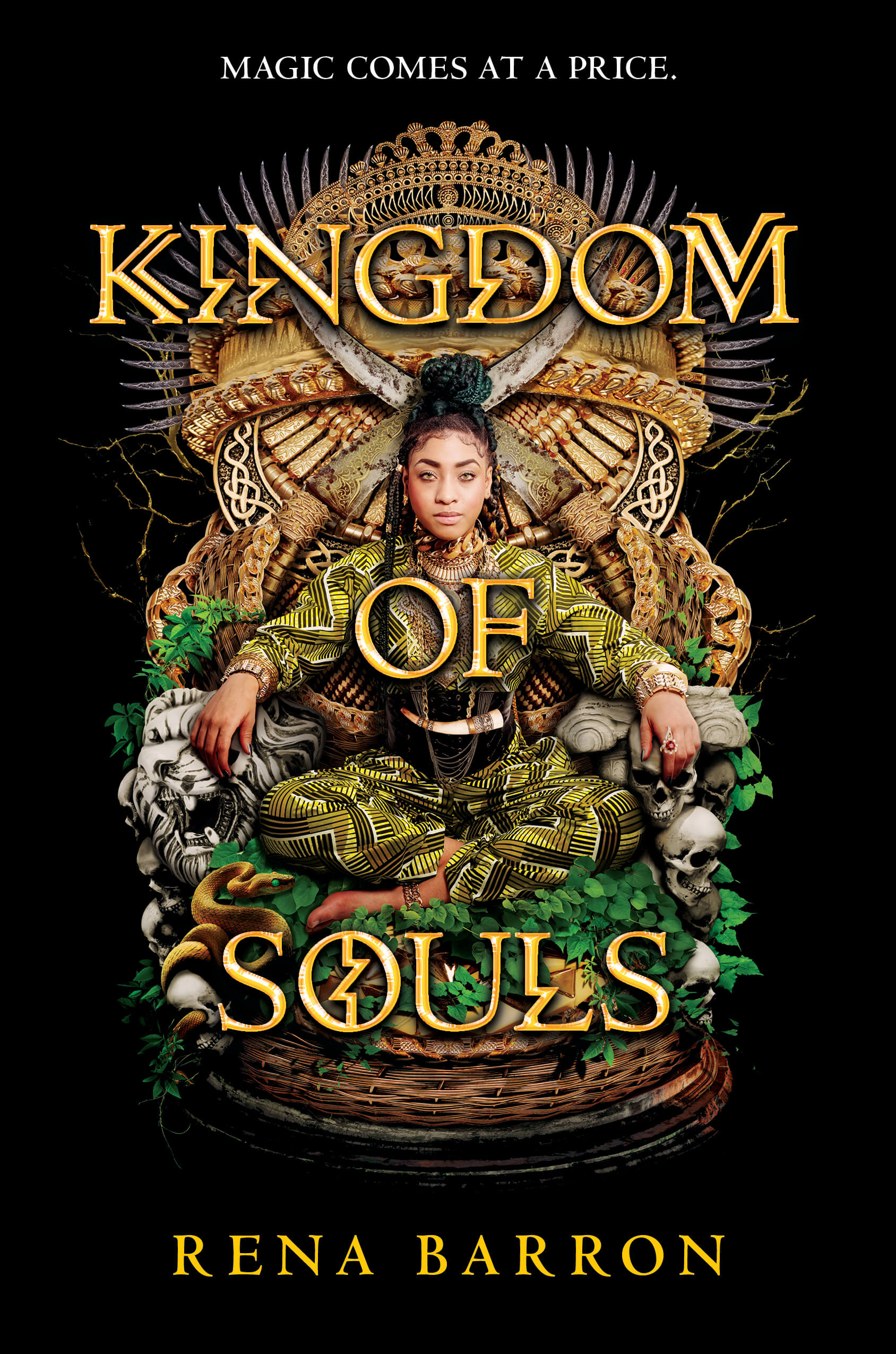 Kingdom of Souls: Cover