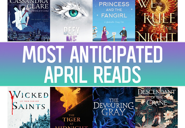 New April Books: Banner