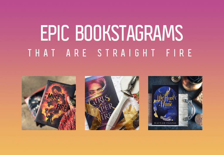 These Epic, Flame-Inspired Bookstagrams Are Straight Fire
